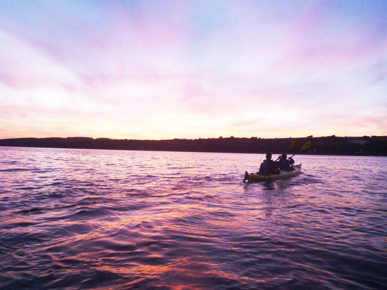 Coucher du soleil et Porto - Kayak de mer - 4natures